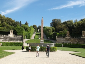 Entrée des jardins de Boboli