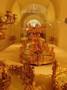 Une des pièces du Musée de l'argenterie